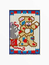 Patching Teddy Beaded Banner Pattern