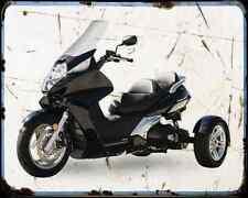 Honda Silverwing Trike Kit  2 A4 Metal Sign Motorbike Vintage Aged