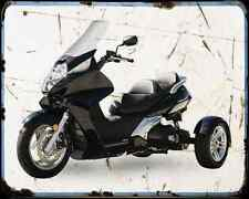 Honda Silverwing Trike kit 2 A4 métal signe Moto Vintage Aged