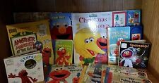 ELMO BOOKS, AMAZING HUGE COLLECTION OF ELMO!  ***REDUCED***