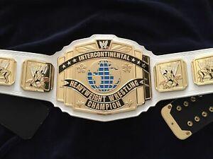 Intercontinental Heavyweight Champion Wrestling Belt Leather 2MM Plate Adult