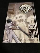 2017 Southern Illinois Miners Baseball Pocket Schedule