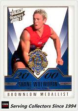 2015 Select AFL Honours S2 Brownlow Gallery Card BG92 Shane Woewedin (Melbourne)
