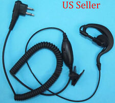 G-Shape Earpiece Headset Mic for Motorola radio MagOne BPR40 A6 A8 EP450 AU1200