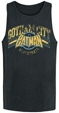 Batman - Vest Top Gotham Basketball Tank DC Comics Adults Sleeveless Cotton