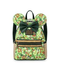 Disney Minnie Mouse Main Attraction May Tiki Room Loungefly Backpack Bag IN HAND