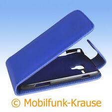 Flip Case étui Pochette Pour Téléphone Portable Sac Housse Pour Samsung gt-s7562/s7562 (bleu)