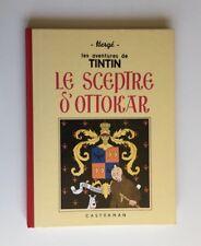 TINTIN LE SCEPTRE D OTTOKAR FAC SIMILE N&B / BD EO 1988 / HERGE / CASTERMAN