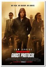 MISSION IMPOSSIBLE 4: GHOST PROTOCOL - D/S 27x40 REGULAR Movie Poster-TOM CRUISE