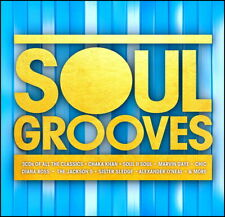 Soul Grooves * 58 Greatest R&B / Soul Hits * New 3-Cd Boxset * All Original Hits