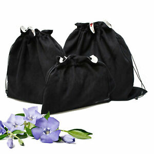 LUXURIOUS REVERSIBLE BLACK & WHITE DUST BAG Covers (3pack) - (Save $16)