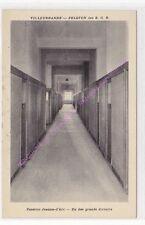 CPSM 69100 VILLEURBANNE Caserne Jeanne d'Arc dortoirs peloton E.O.R.