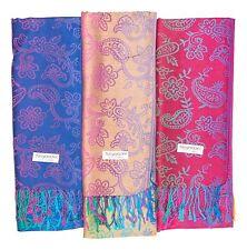 100% PASHMINA Wholesale Lot of 12 NEW Soft Shawl Scarf Stole Wrap Fashion Women