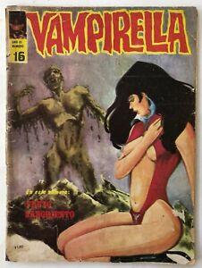 VAMPIRELLA N° 16 HORROR ARGENTINA EDITORIAL MAZZONE 1972