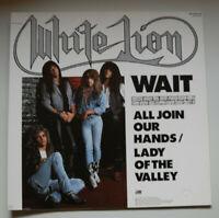 "WHITE LION - Wait 12"" Germany 1987 Atlantic MINT"