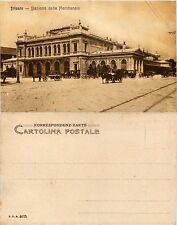 Trieste, Stazione della meridionale, animata con carri nuova ottime condizioni