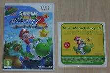 Wii - Super Mario Galaxy 2 Box & Instructions with DVD Tutorial - NO GAME DISC