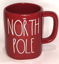 Rae Dunn Artisan Collection North Pole Red Christmas Mug