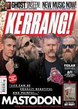 KERRANG! magazine 12 January 2019 Mastodon + art print - Ghost Exclusive Posters