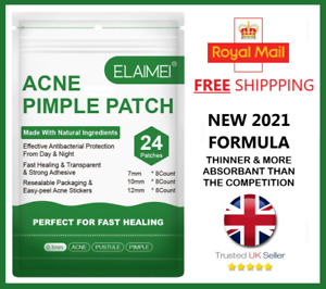 Acne Pimple Blemish Tag Spot Zit Treatment Stickers Patches Hydrocolloid Dots