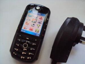 SENIOR PENSIONER  SPARE BASIC ORIGINAL RARE MOTOROLA E1000 ON THREE  2G,3G,4G