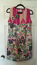 Malene Birger's Darling size XS bright pink and multi 3D sequinned floral dress