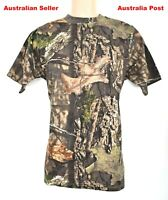Mossy Oak Original Camo Hunting Fishing Camping Hiking Performance T-shirt Large
