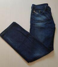 Diesel Safado Mens Jeans W32 L32 Wash 087U Blue Regular Slim Straight