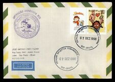 DR WHO 1998 BRAZIL XVII ANTARCTIC OPERATION AIRMAIL C239157