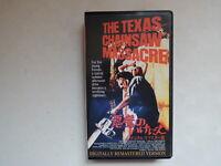 THE TEXAS CHAIN SAW MASSACRE Tobe Hooper  japanese movie VHS 1974 rare