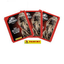 More details for panini jurassic world ultimate sticker collection sealed packs - 1, 2, 3, 5, 10