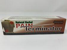 Pain Terminator Herbal Cream Tube 1.77 oz (50 gm) by Golden Sunshine