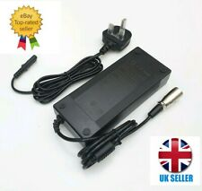 48V/54V 2A XLR Battery Charger UK - E-bike Electric Bicycle Scooter Wheelchair
