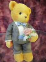 "Cherished Teddies -#476366 -""GROOMSMAN""-The Time Has Come For Wedding Bliss- NIB"
