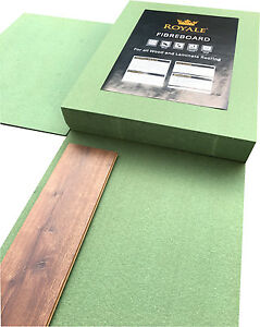 7mm Fibreboard Underlay- Laminate or Wood Flooring - 7mm Thick - German Quality