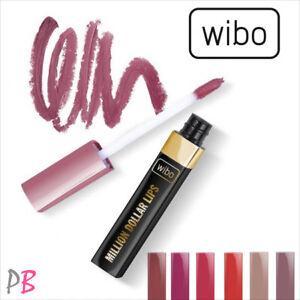 Wibo Million Dollar Lips Matt Liquid Lipstick Matte Shades Nude Red Pink