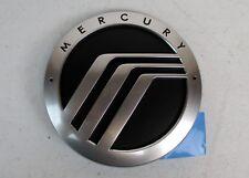 """00-02 Mercury Villager 4"""" Grille Emblem Badge Logo Decal Silver/ Black Stick On"""