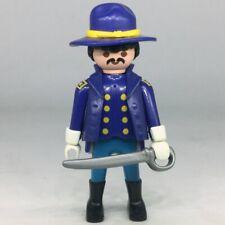 Playmobil soldat Nordiste officier veste bleue
