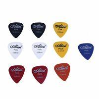 Alice 10x Plettro Accessori per Chitarra chitarra pick 0.58 mm Y6C5
