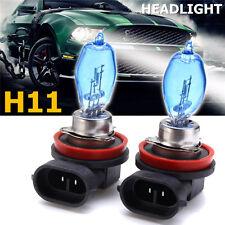 Pair H11 100W 8500K HID Car Headlight HOD Xenon Halogen Fog Light Bulb Lamp 12V