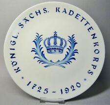 (G3408) Meissen Regimentsteller Königlich Sächsisches Kadettenkorps 1725-1920
