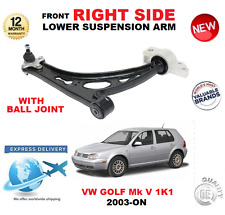 FOR VW GOLF Mk V 2003-> FRONT LOWER RIGHT SIDE WISHBONE ARM WITH BALL JOINT