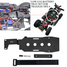 KYX RC Car Alluminum Low LCG Battery Tray Set for Traxxas TRX-4