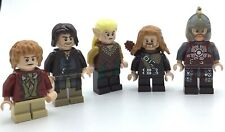 LEGO LOT OF 5 HOBBIT MINIFIGURES LORD OF THE RINGS SAM DWARF EOMER RARE LOTR FIG