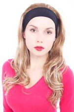 Perruque Femme Bouclée Bandeau avec Mêches Blondes Long 60 cm GFW947H-27H613