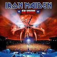IRON MAIDEN (2 CD) EN VIVO : LIVE! ~ BRUCE DICKINSON *NEW*