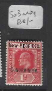 NEW HEBRIDES     (P2611B)  KE 1D   SG 3   MOG