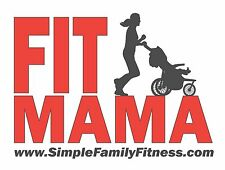 FitMama Running Vinyl Sticker Decal for Car Window