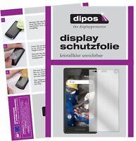 2x Fairphone 2 Film de protection d'écran protecteur clair dipos