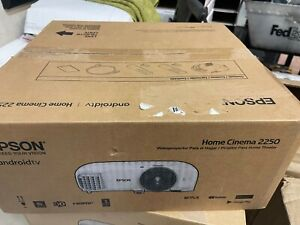 NEW Epson Home Cinema 2250 3LCD Full HD 1080p Projector